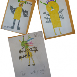 Thank you P3/4 at Burgh Primary School!