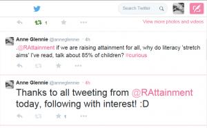 tweet about RAFA